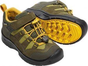 Keen Chlapčenské outdoorové topánky Hikeport WP - hnedo-žlté značky ... 3796802aa08