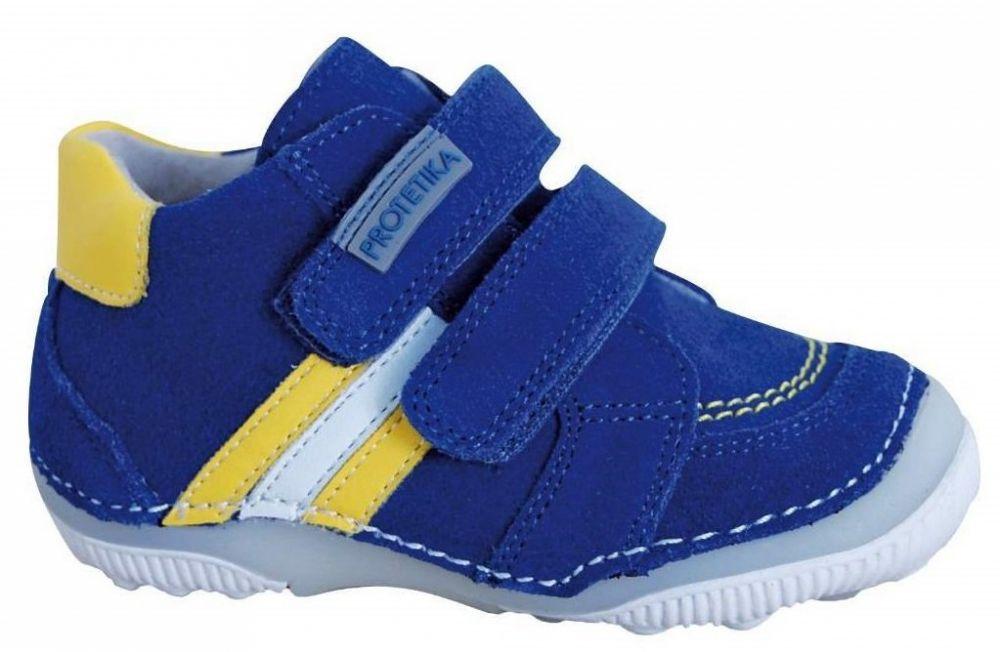 27261009f3d8 Protetika Chlapčenské členkové topánky barefoot Maty - modré značky  Protetika - Lovely.sk