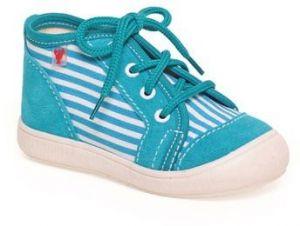 b39266cf44c39 RAK Chlapčenské kožené topánky Zachary - modré značky RAK - Lovely.sk