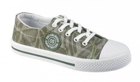 Peddy Chlapčenské tenisky s gumovou špičkou - zelené značky Peddy -  Lovely.sk d961d593daa