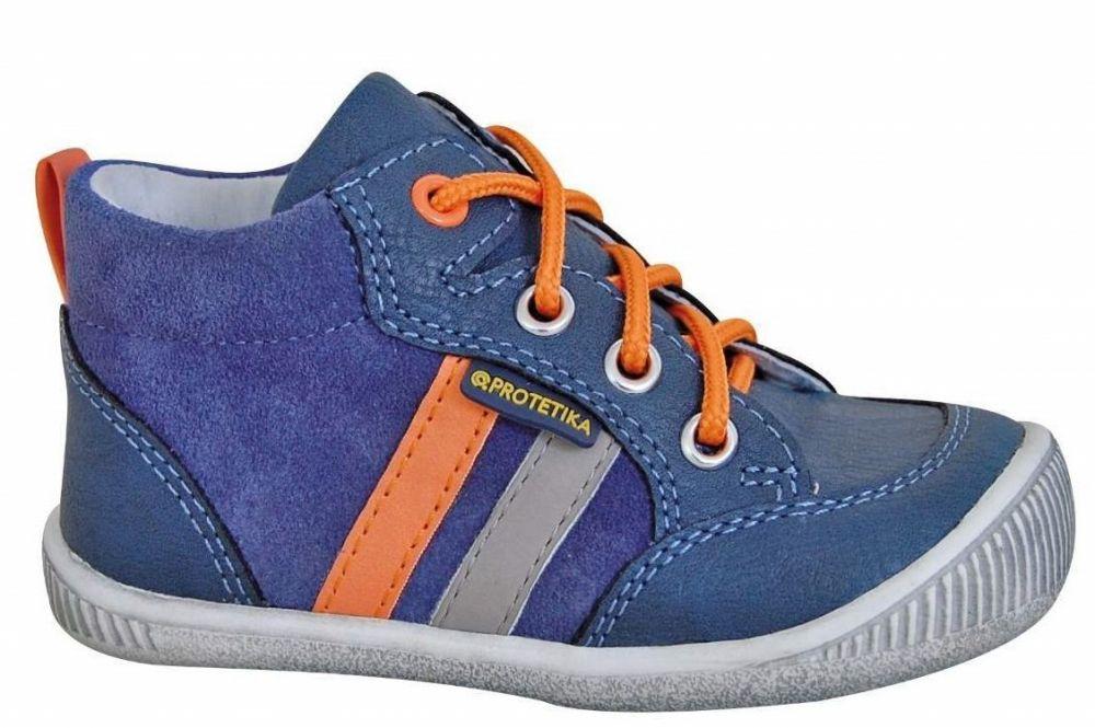 323aad154e01 Protetika Chlapčenské členkové topánky Nuti- modré značky Protetika -  Lovely.sk