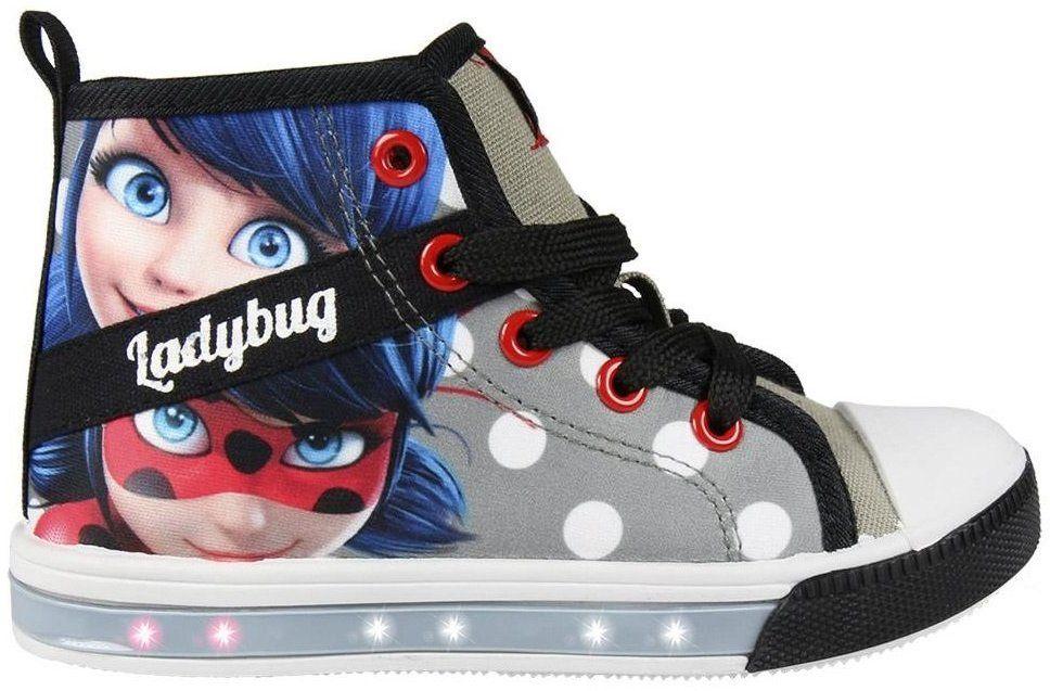 Disney Brand Dievčenské blikacie tenisky Ladybug - šedé značky Disney Brand  - Lovely.sk a0280acb853
