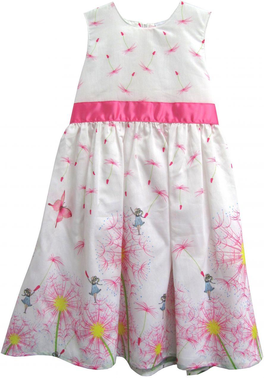 530ad6d6070a Topo Dievčenské šaty s jarnými motívmi - farebné značky Topo - Lovely.sk