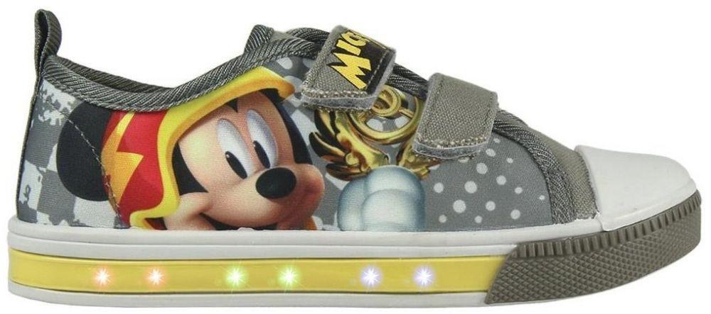 Disney Brand Chlapčenské blikajúce tenisky Mickey Mouse - šedé značky  Disney Brand - Lovely.sk f623bbb66b5