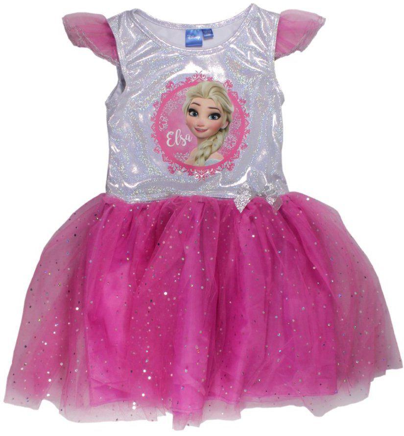 1cb8234c9e5a E plus M Dievčenské šaty Frozen - ružové značky E plus M - Lovely.sk