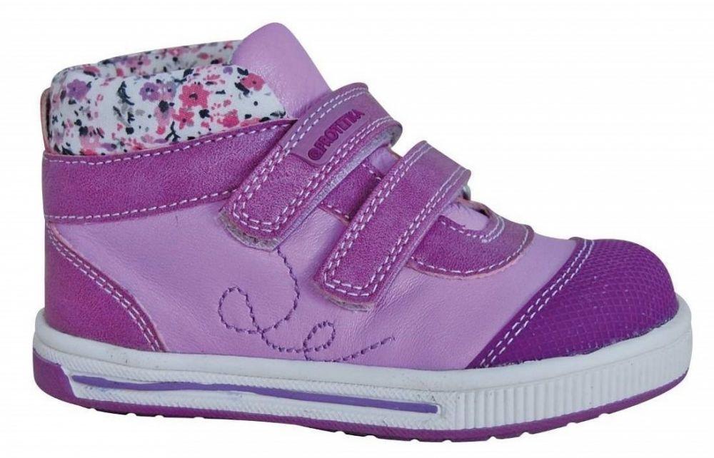 Protetika Dievčenské členkové topánky Gera - fialové značky Protetika -  Lovely.sk 9404f085f73