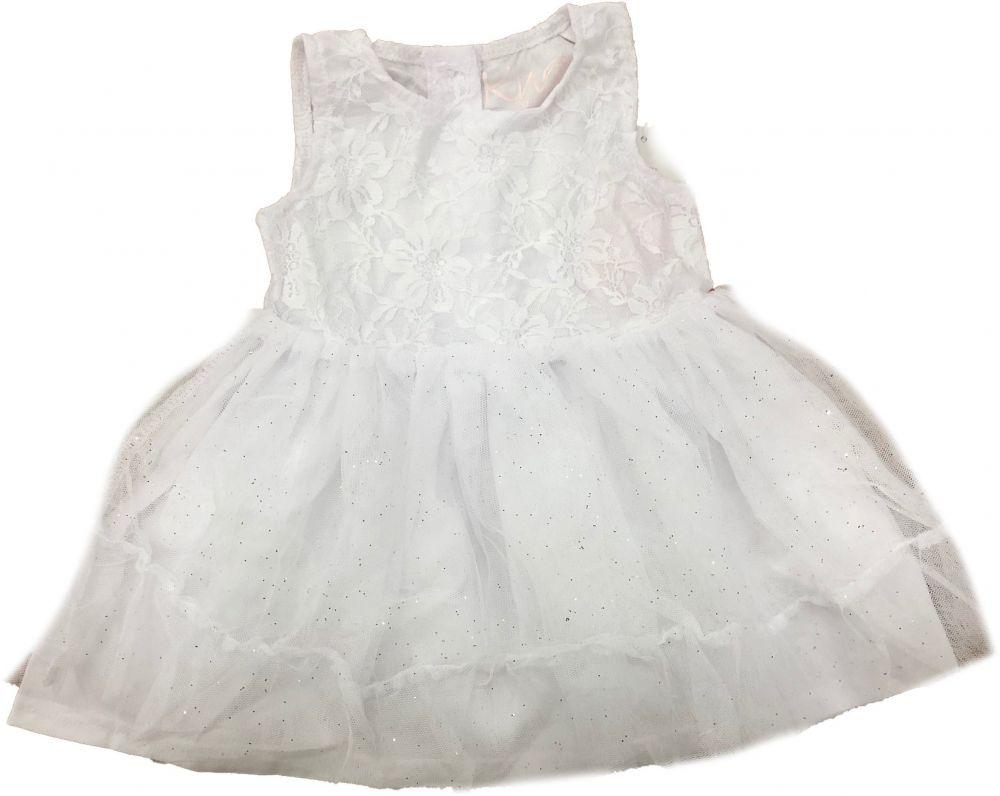 87a189ca1b7e Carodel Dievčenské šaty - biele značky Carodel - Lovely.sk