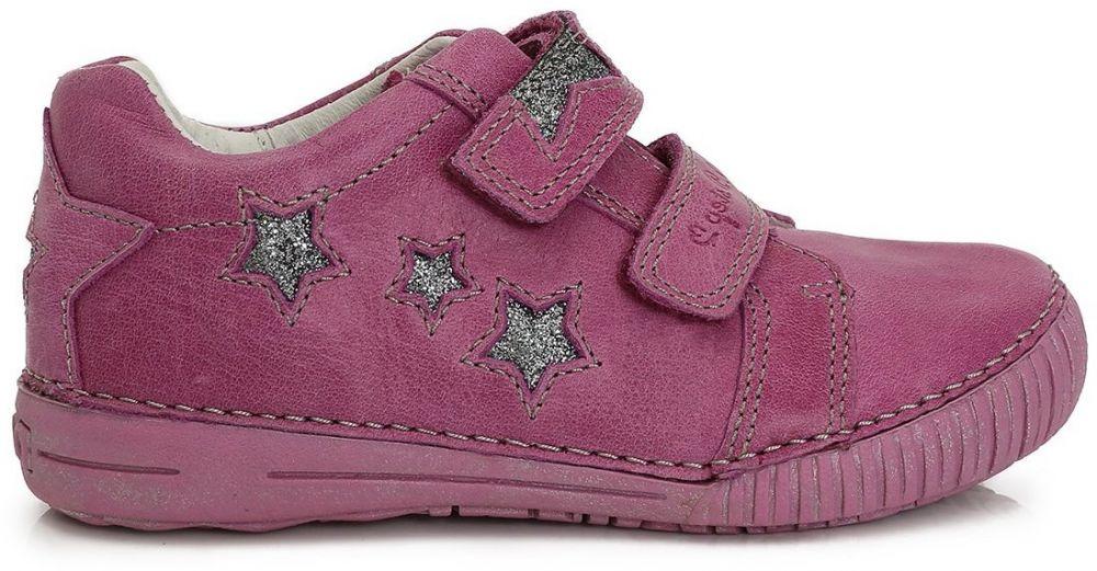 27080862de D.D.step Dievčenské členkové topánky s hviezdičkami - fialové značky  D.D.step - Lovely.sk