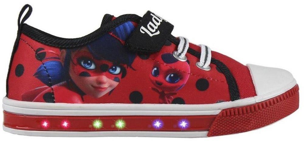 Disney Brand Dievčenské blikacie tenisky Ladybug - červené značky Disney  Brand - Lovely.sk 377ea279c79