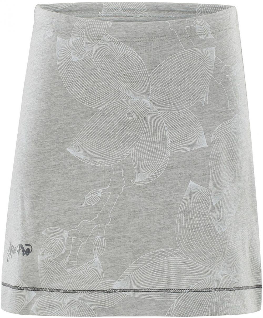 7381b6c24451 ALPINE PRO Dievčenská sukňa Lauco 2 s prúžkami - šedá značky Alpine Pro -  Lovely.sk
