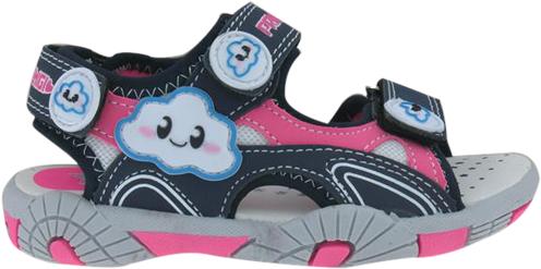 Primigi Dievčenské sandále s obláčikom - modro-ružové značky Primigi ... f2e399a29b