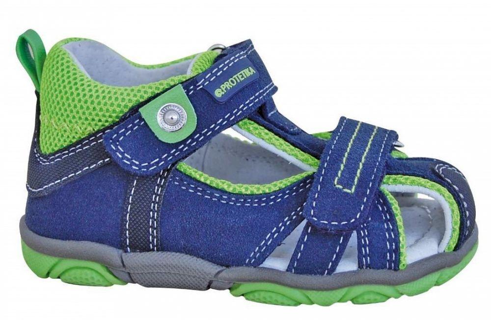 43f2eb52010f Protetika Chlapčenské sandále Real - modro-zelené značky Protetika -  Lovely.sk