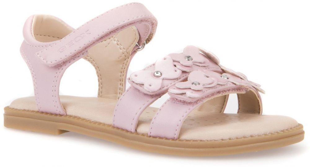 7242fd967fa1 Geox Dievčenské remienkové sandále Karly - ružové značky Geox - Lovely.sk