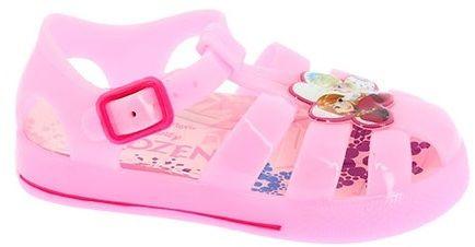 c36c9186a4de Disney by Arnetta Dievčenské gumové sandále Frozen - ružové značky ...