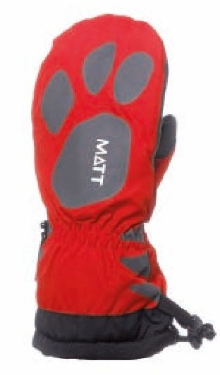 Matt Dievčenské rukavice Claw - červené značky Matt - Lovely.sk 7c904ee3959