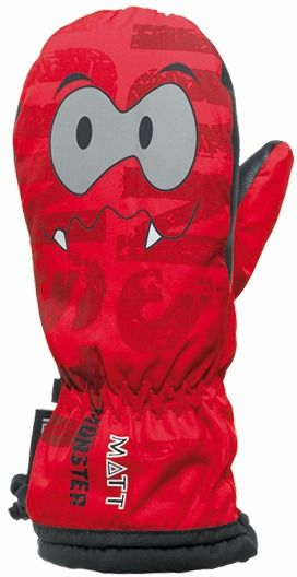 Matt Detské palčiaky Monster - červené značky Matt - Lovely.sk f078261e8bf