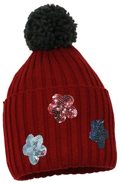 Pupill Dievčenská čiapka Selena - červená značky Pupill - Lovely.sk 42558ff09b1