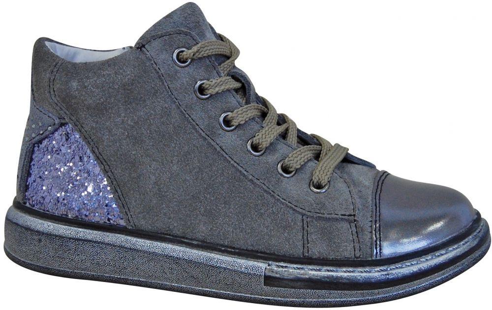 0504e74f5e35 Protetika Dievčenské členkové topánky Edet - šedé značky Protetika ...