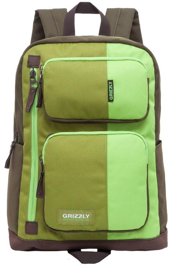 4fe04dedc9 Grizzly Študentský batoh RU 619-1 2 značky Grizzly - Lovely.sk