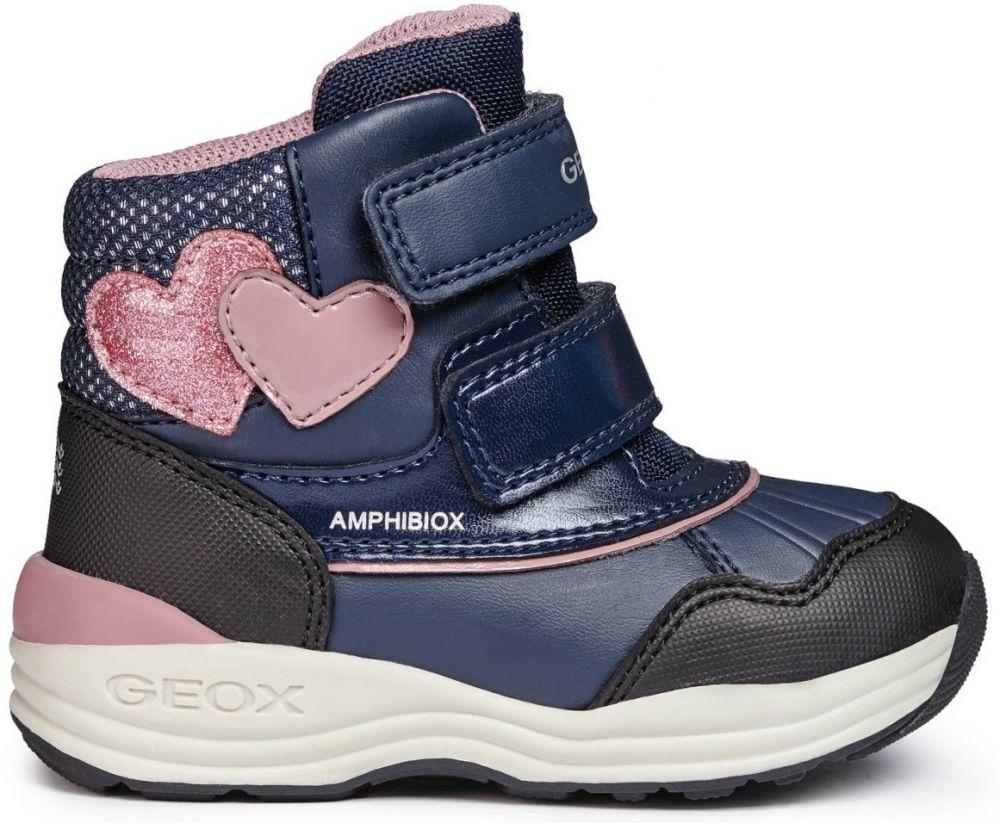 Geox Dievčenské zimné topánky New Gulp - modré značky Geox - Lovely.sk e8c4ed70e44