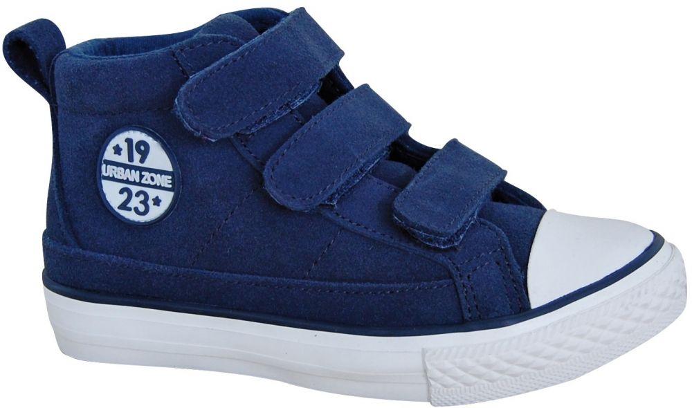 701efee38c36 Protetika Chlapčenské kožené členkové tenisky Boston - modré značky  Protetika - Lovely.sk