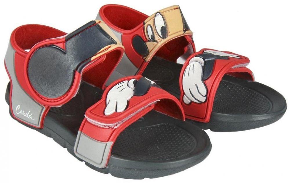 Disney Brand Chlapčenské sandále Mickey Mouse - šedo-červené značky Disney  Brand - Lovely.sk 397b1a531d8