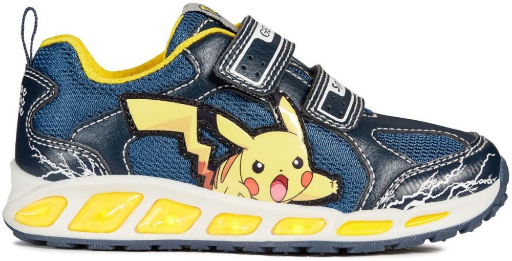 67adce13db933 Geox Chlapčenské svietiace tenisky Shuttle Pokémon - modré značky Geox -  Lovely.sk