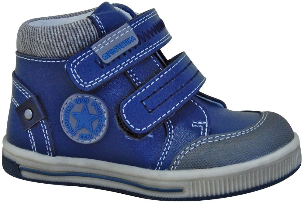 a0bb6aa35999 Protetika Chlapčenské členkové topánky Toby - modré značky Protetika -  Lovely.sk