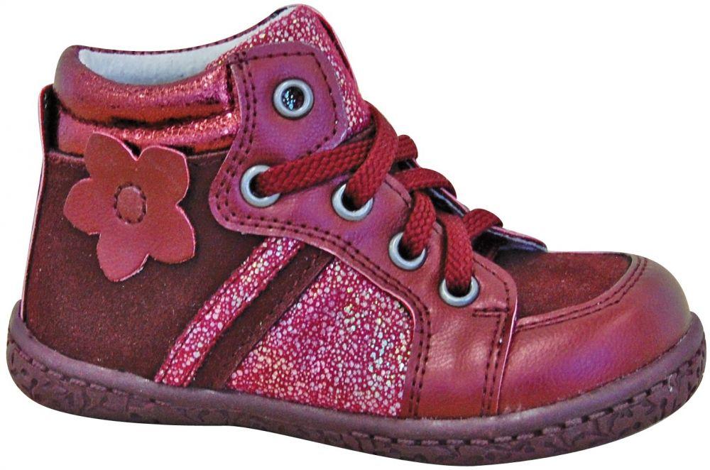 331cba4ce557 Protetika Dievčenské členkové topánky Ronda - červené značky Protetika -  Lovely.sk