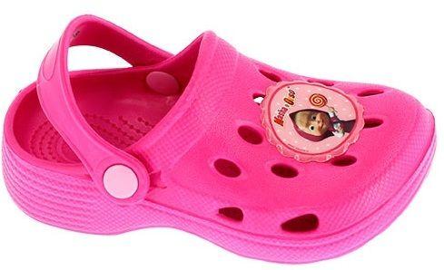 ab6509ae1ddf Disney by Arnetta Dievčenské gumové sandále Máša a Medveď - ružové značky  Disney by Arnetta - Lovely.sk