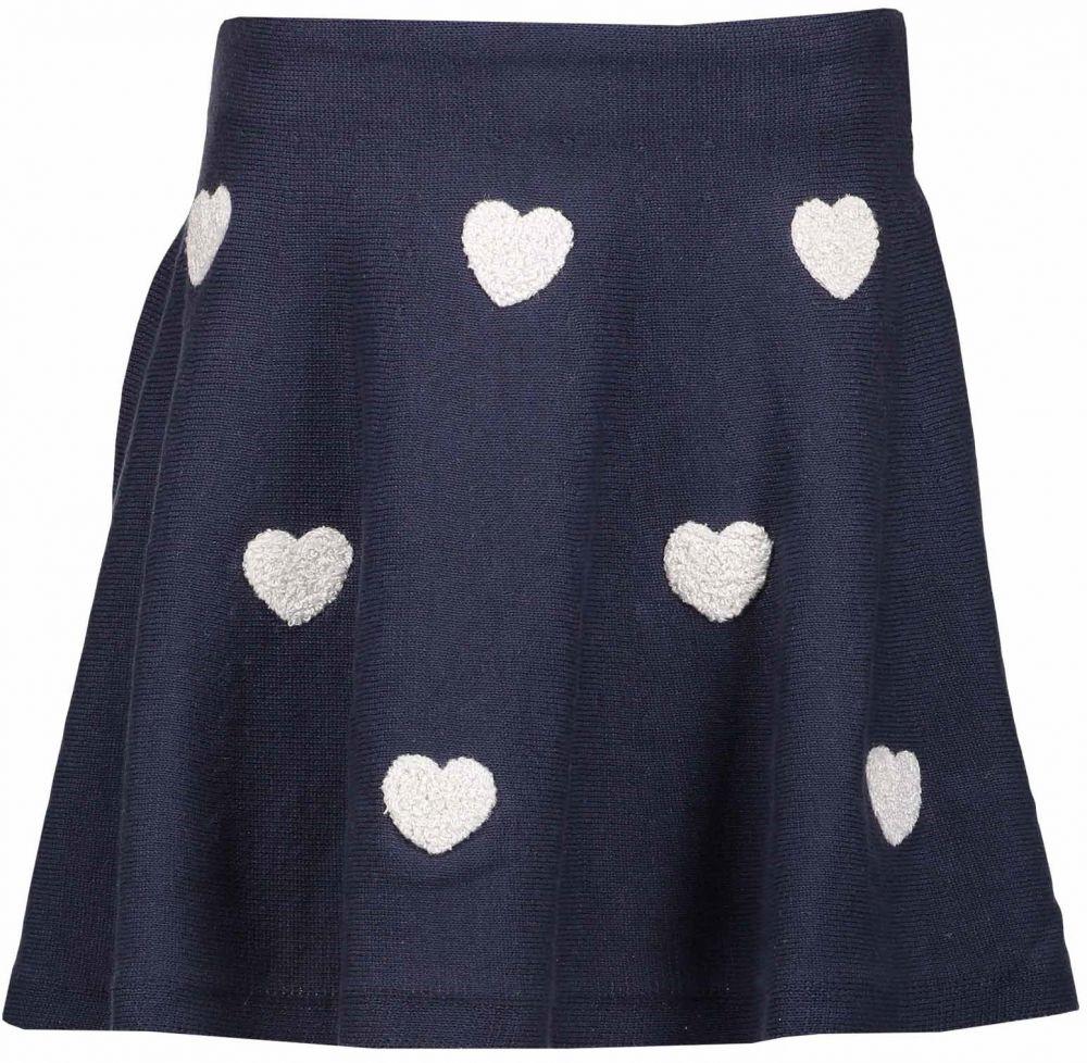 Blue Seven Dievčenské sukne so srdiečkami - modrá značky Blue Seven -  Lovely.sk a48c1e292a6