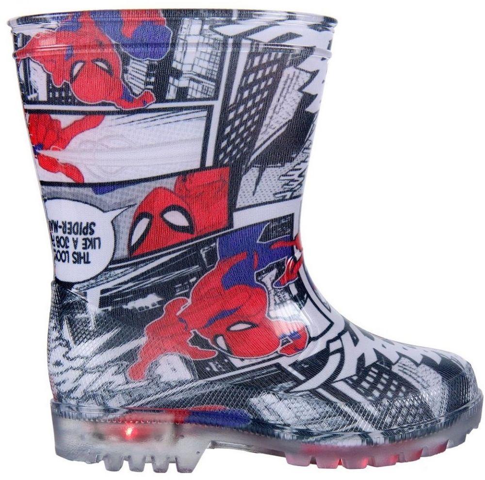Disney Brand Chlapčenské svietiace gumáky Spiderman - farebné značky Disney  Brand - Lovely.sk 3490cc63650