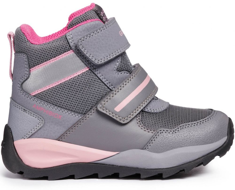 Geox Dievčenské zimné topánky Orizont - šedé značky Geox - Lovely.sk 8e6a8d88f10