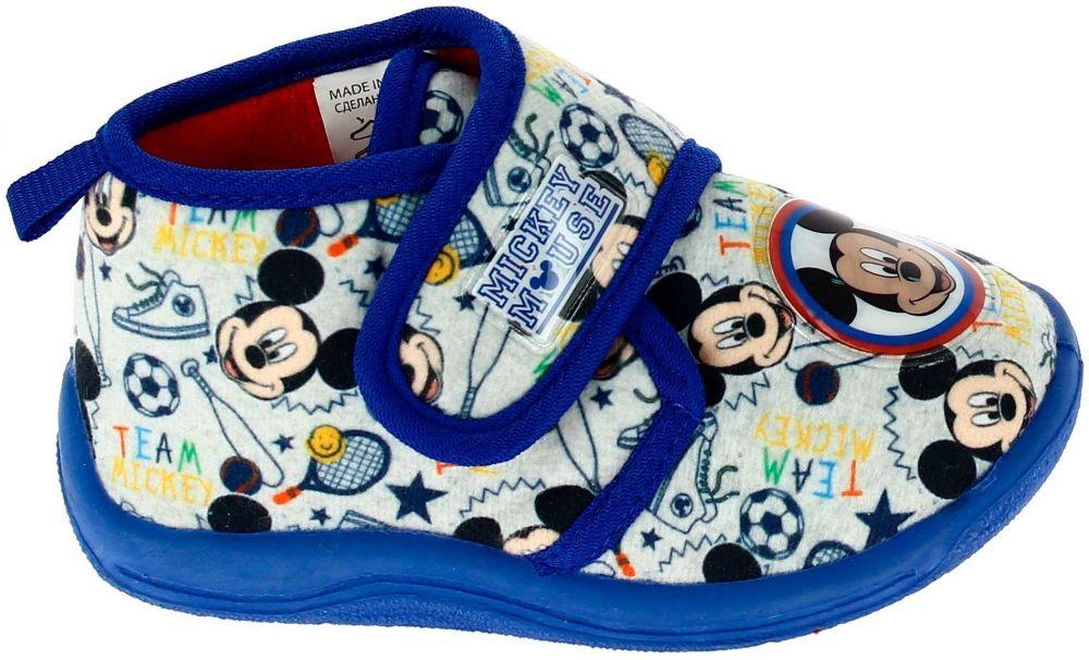 Disney by Arnetta Chlapčenské papučky Mickey Mouse - modro-šedé značky  Disney by Arnetta - Lovely.sk 48b5a41293c