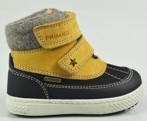 Primigi Chlapčenské zimné topánky - žlté značky Primigi - Lovely.sk e4c5baeb044