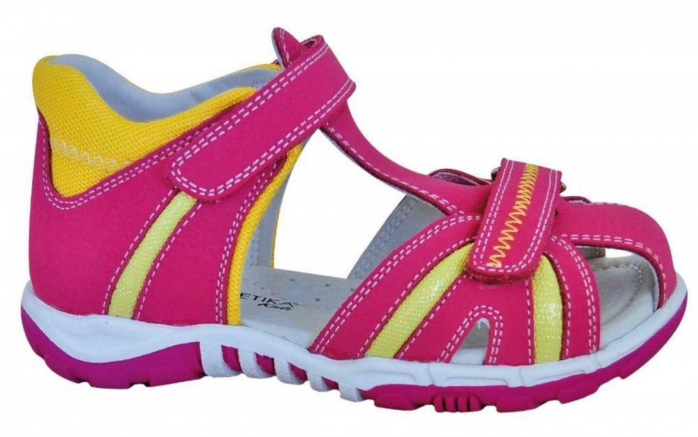 01d375808ce6 Protetika Dievčenské sandále Karmen - ružové značky Protetika - Lovely.sk