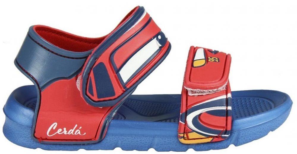 ce078c5cef41 Disney Brand Chlapčenské sandále Cars - červeno-modré značky Disney Brand -  Lovely.sk