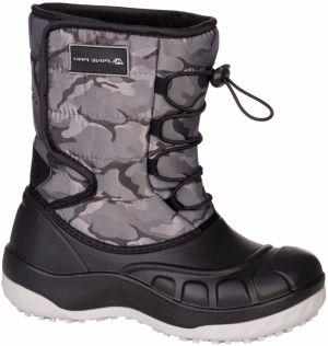 ALPINE PRO Detská outdoorová obuv Tyroll - červeno-šedé značky ... 46fbd6071a4