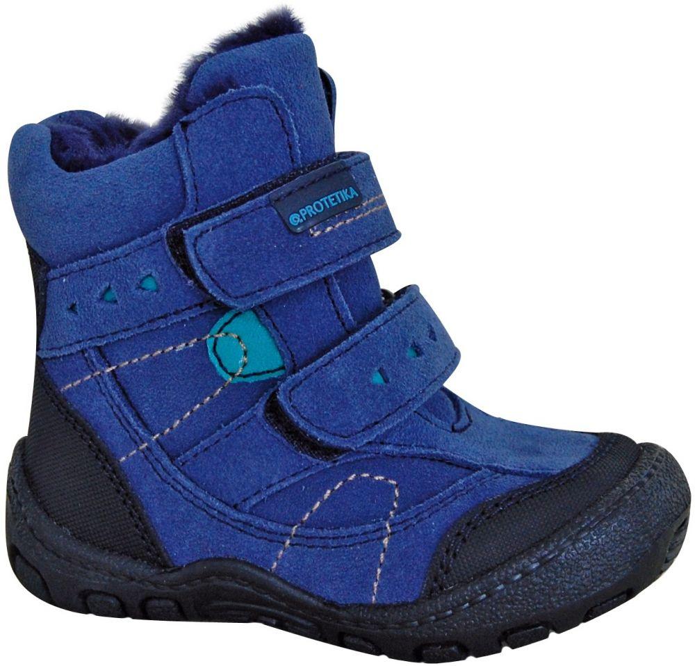 7551097ef079 Protetika Chlapčenské zimné topánky Laros - modré značky Protetika -  Lovely.sk