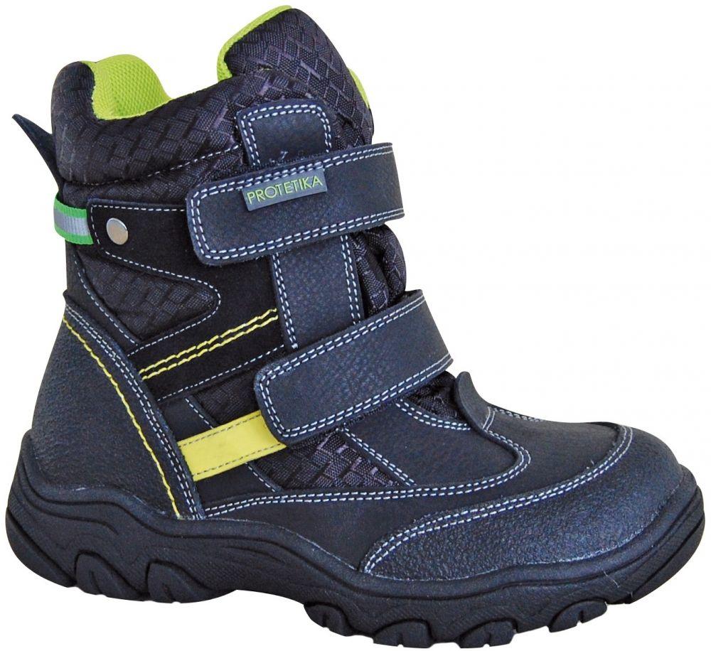 2b632398c4 Protetika Chlapčenské zimné topánky s membránou Polar - čierne značky  Protetika - Lovely.sk
