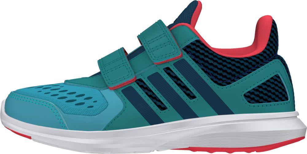 adidas Chlapčenské bežecké tenisky Hyperfast - zeleno-modré značky Adidas -  Lovely.sk 8c0a4ccd773