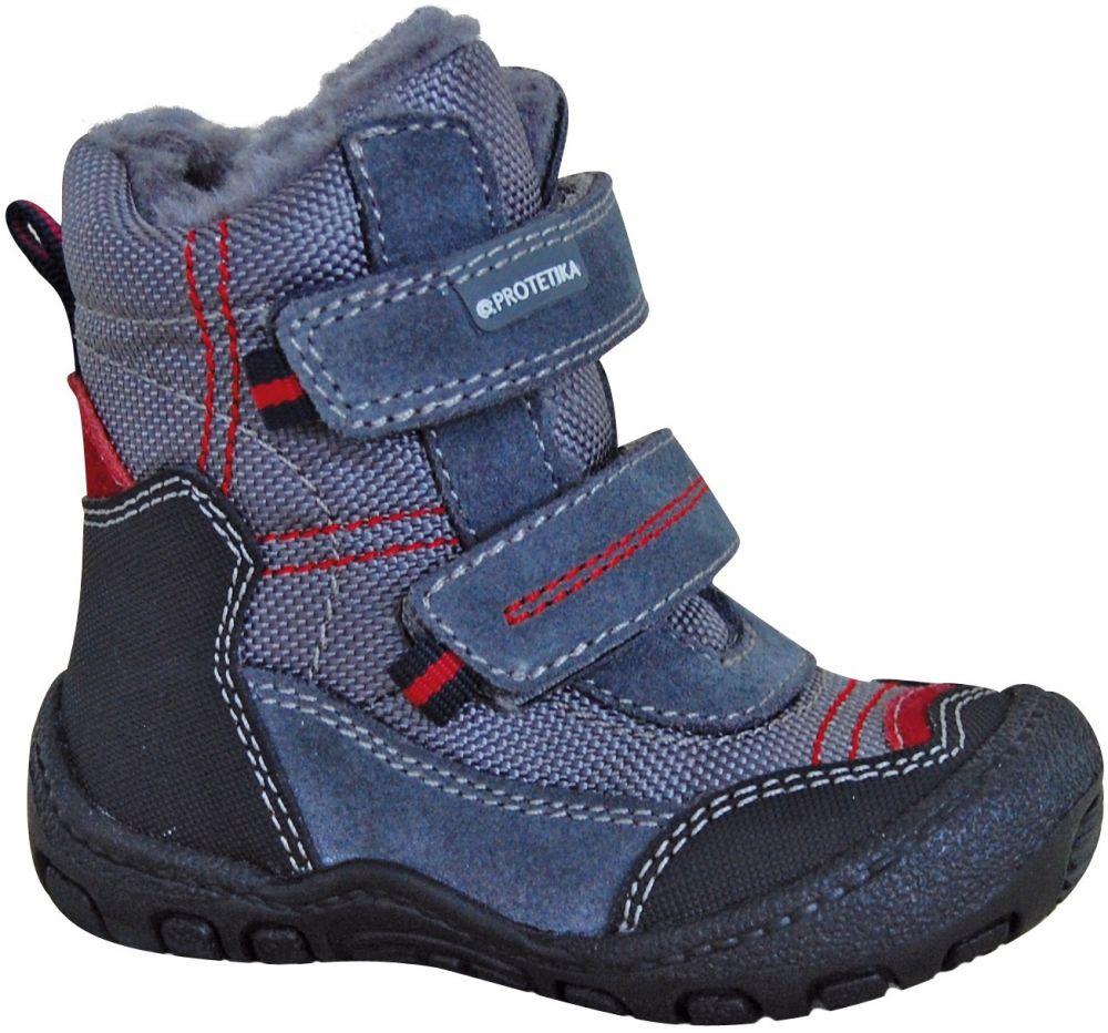 6c5ae4ad5c Protetika Chlapčenské zimné topánky Rolo - šedo-modré značky Protetika -  Lovely.sk