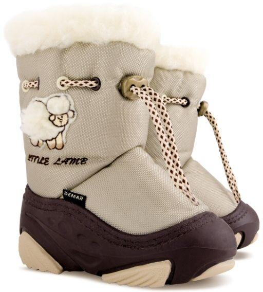 Demar Detské snehule Little Lamb A - béžové značky Demar - Lovely.sk 540cd8e3fd6