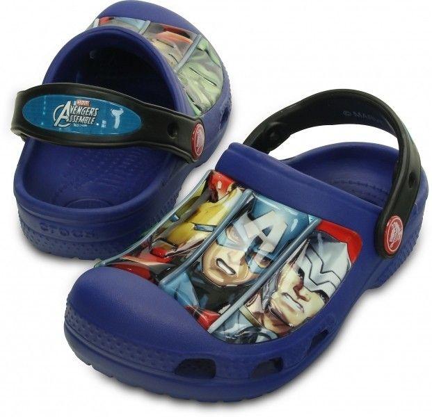 Crocs Chlapčenské sandále Creative Crocs Avengers III Cerulean Blue značky  Crocs - Lovely.sk 0f4b38d45e