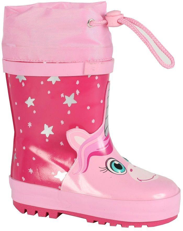 5e836f85fac1 Wink Dievčenské gumáky s jednorožcom - ružové značky Wink - Lovely.sk