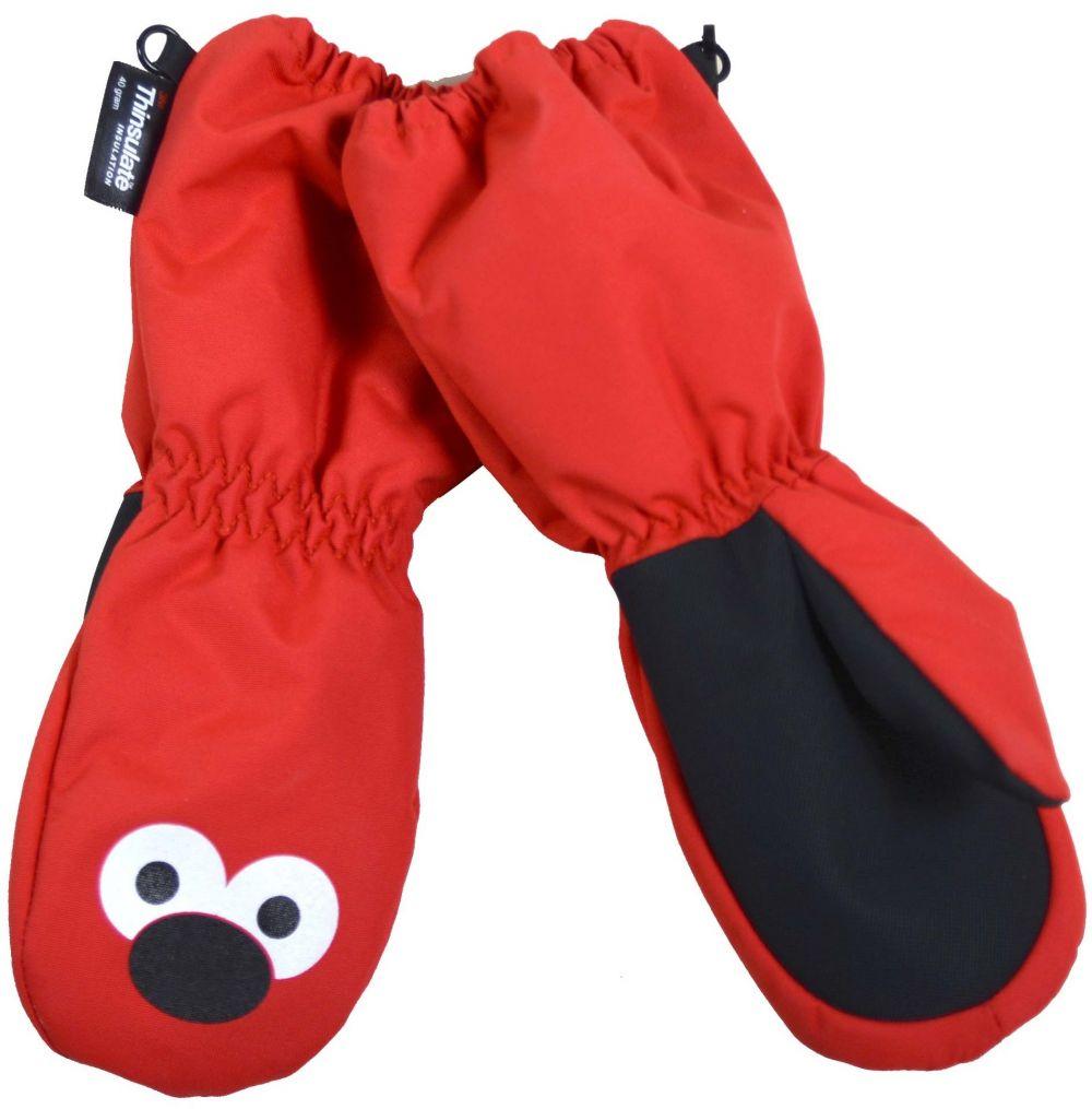 PIDILIDI Dievčenské palcové rukavice - červené značky PIDILIDI - Lovely.sk e419068ce6e