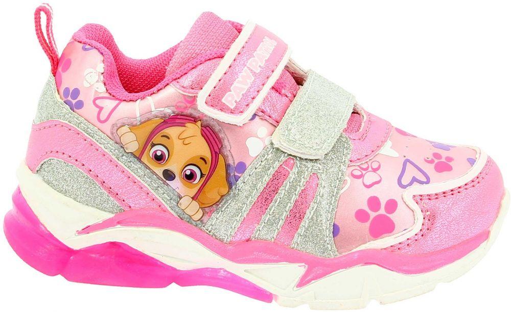 Disney by Arnetta Dievčenské svietiace tenisky Paw Patrol - ružové značky  Disney by Arnetta - Lovely.sk 35af9416117