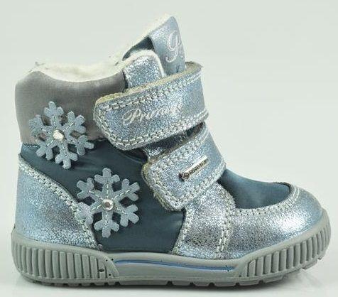 Primigi Dievčenské zimné topánky s hviezdičkami - šedé značky Primigi -  Lovely.sk 61384e3c80