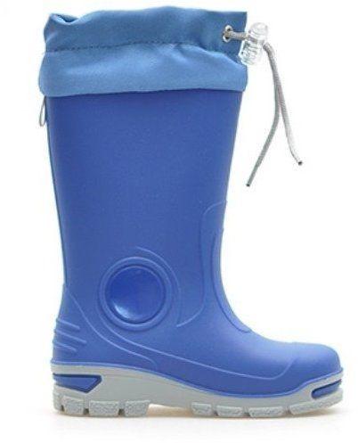 afe8a065b54b Ren But Chlapčenské čižmy so sťahovacím lemom - modré značky Ren But -  Lovely.sk