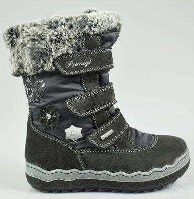b1639f782e Primigi Dievčenské zimné topánky - šedé značky Primigi - Lovely.sk